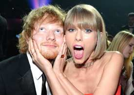 Ed Sheeran thanks Taylor Swift for meeting his fiancée - The Matchmaker