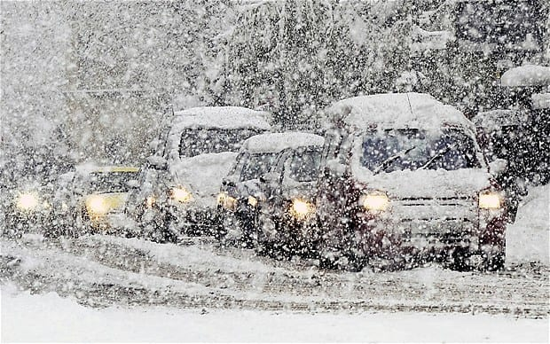 Four People Dead as Arctic Blizzard Causes Chaos Around the UK