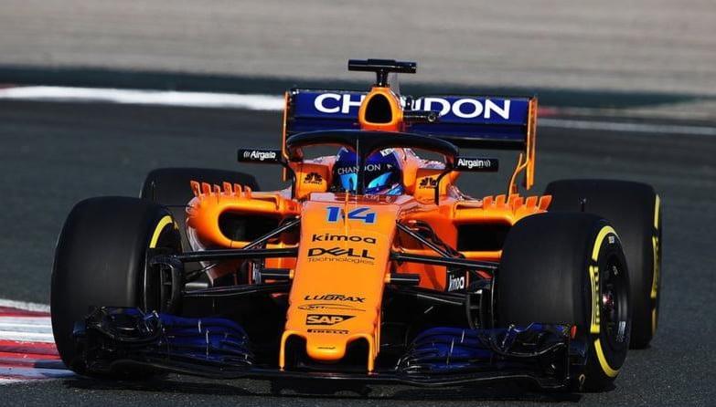 Mclaren Formula 1 Car