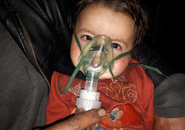Exclusive Video showing the harrowing images coming from Ghouta- Syria - Warning Distressing Images