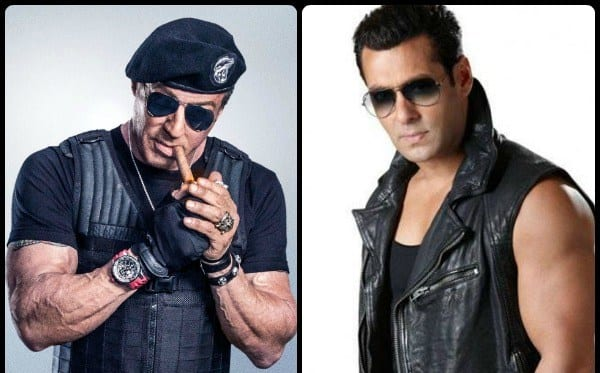 Sylvester Stallone returns Salman Khan's favour & promote each others movies -#BFF