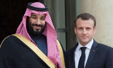 French President Emmanuel Macron was quite triumphant over the missile strikes on Syria - was it influenced by the Saudi Visit - TWSF