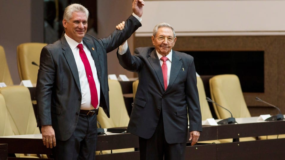 Cuba's parliament has selected Miguel Díaz-Canel as the best man to succeed Raúl Castro
