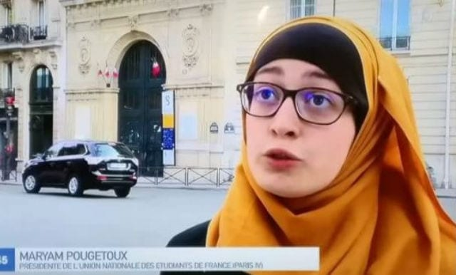 As student hijab row unfolds Yvonne Ridley says French bigots should confront their colonial past