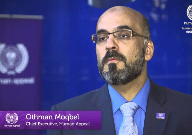 Othman Moqbal Chief of Muslim charity Human Appeal axed in finances row