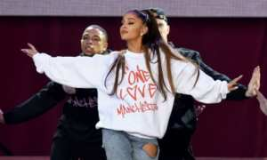 Ariana Grande Remembering the attack on Manchester 2018