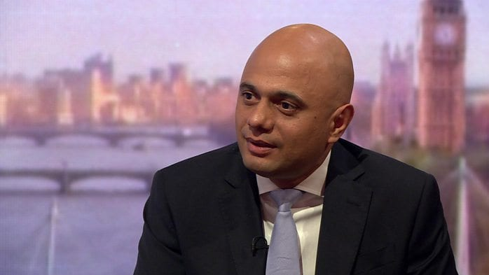 Immigration from Sajid Javid - An uncertain future