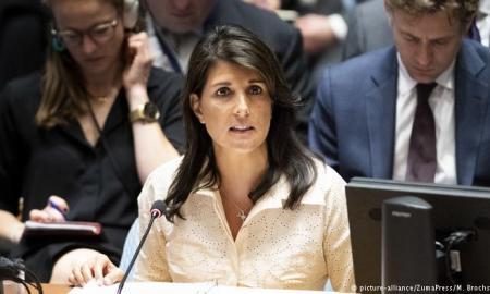 US Ambassador Haley announces the US will quit the UNHRC