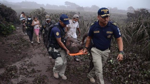 Dozens die as Fuego volcano erupts - Guatemala volcano
