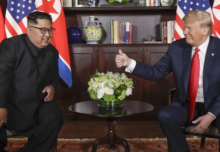 No more War Games As Trump & Kim sign agreement on denuclearisation