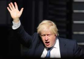Bojo in the lead ... as long as he remains gagged!