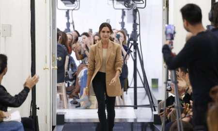 London Fashion Week - Victoria Beckham makes her debut