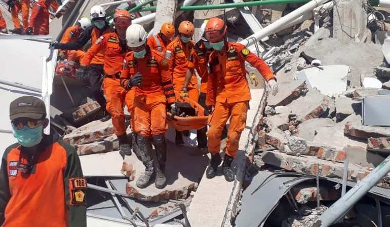 Indonesia Devastated; The search for survivors as death toll goes into thousands