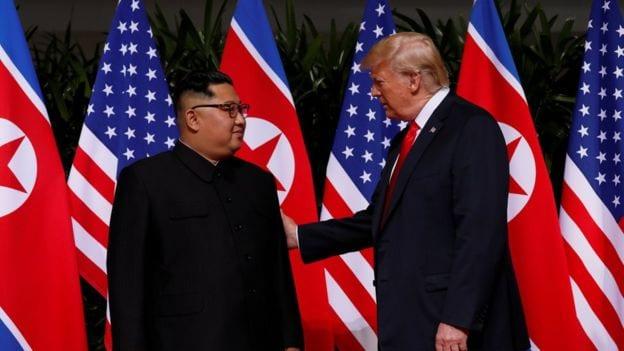 Trump: bury Russian-probe headlines with second North Korea meeting