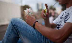 Gaza Tramadol drug addiction