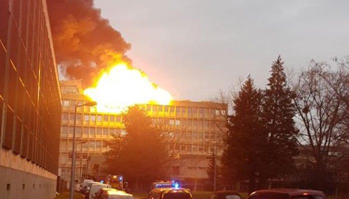 Lyon Explosion