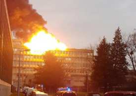 Breaking News Another explosion in Lyon as France as the area is evacuated