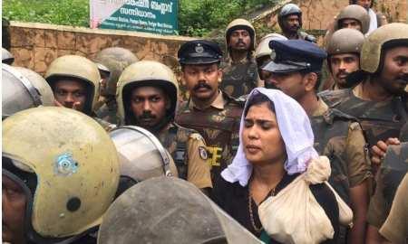 2 women enter Sabarimalani hindu temple