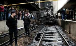 At Least 25 Killed in runaway train Crash at Cairo Train Station #Egypt #Cairo
