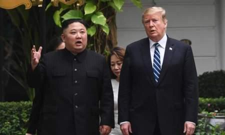 Donald Trump and Kim meet again