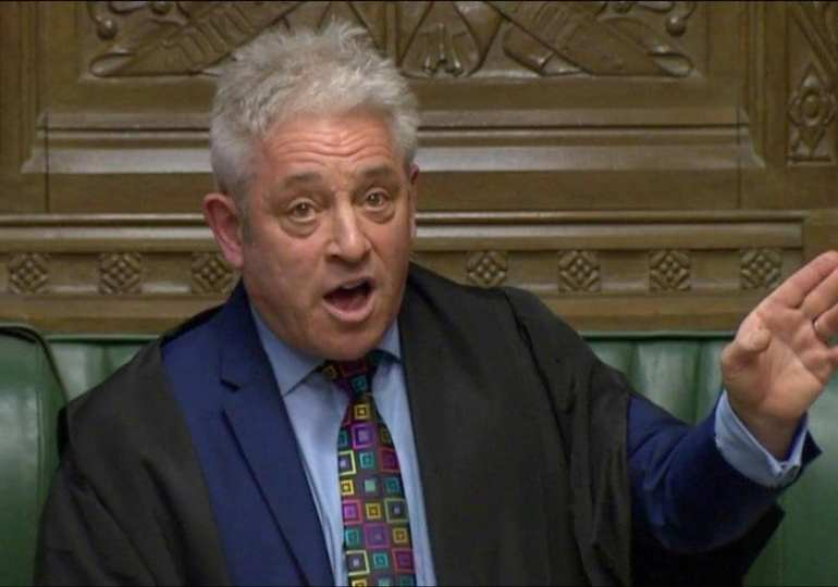 Nice one, Mr Speaker