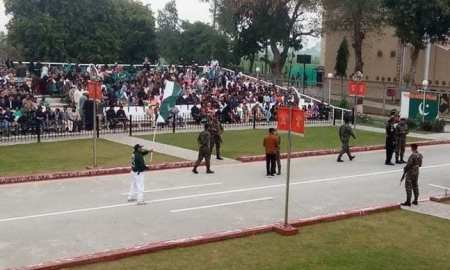 Indian pilot taken to Wagah Border for release