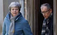 Senior ministers say they are behind the PM, however Boris is not