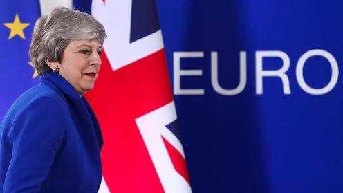 Prime Minister Theresa May returns from Easter break to get back to Brexit business