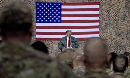 US military spend has risen under Trump