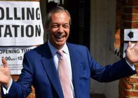 Brexit Party top UK Polls as Far Right surge in the EU