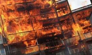 Breaking News Fire breakouts in Barking flats