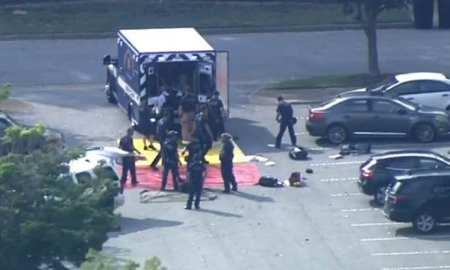 Breaking News Gun shooting in Virginia Beach USA kills 11