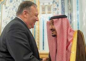 King Salman meets Pompeo to plan Iran attack