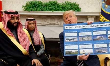 Washington blames Tehran for the attack as they arm Saudi to lead the initiative in saudi iran war.