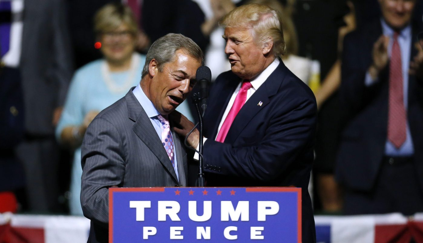 Trump's advise the UK on how to make a deal with EU, dont pay the EU, breaks all ties and build a wall