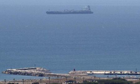 Iranian oil tanker seized