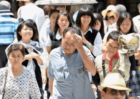 Deadly Heatwave in Japan hospitalises 5664 people and kills 11