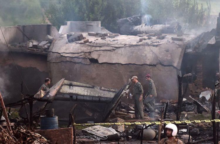 Breaking News: Pakistan's military plane crashes near capital city Islamabad, kills 17