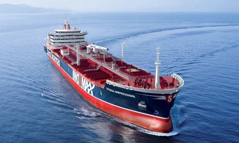 British ship Stena impero is seized by iran