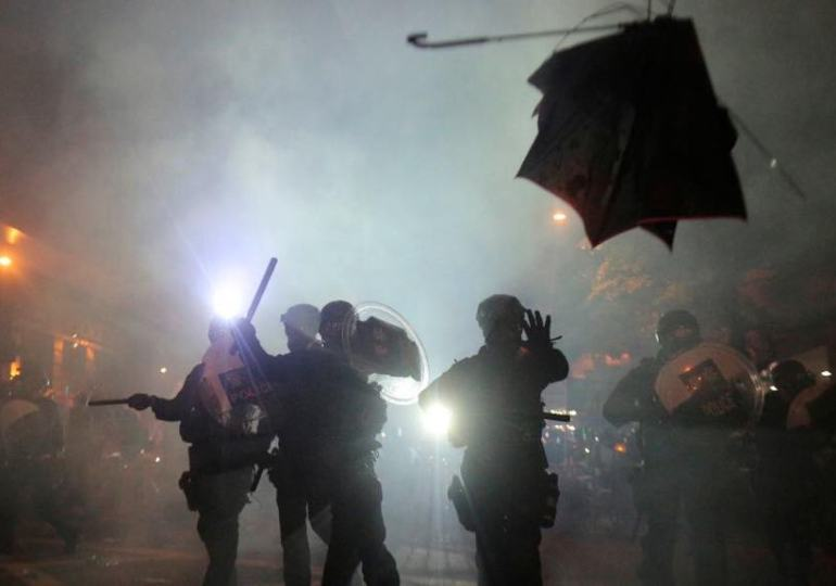deaths of four people turn hong kong protests dark