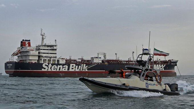 hunt seeks help from europe to deal with ships in Gulf