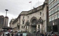 waterloo station fire causes caos