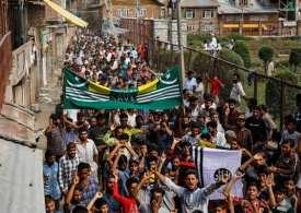 Prisons Overflow as 6000 arrested in Kashmir - Curfew for 3rd week!