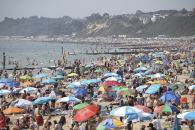 Britain sizzles in record-breaking temps