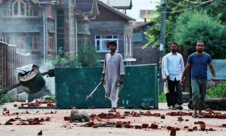 Violence in Kashmir and many more injured as the conflict intensifies