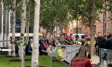 Government worker stabbed outside the Home Office