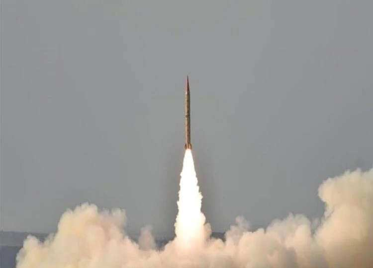 Pakistan tests ballistic missile during a time of tension with India