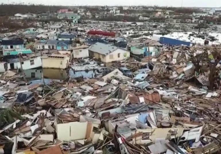 Hurricane Dorian: 70,000 people left homeless in the Bahamas