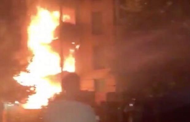 Hackney fire: 80 firefighters tackling blaze in block of flats in North London