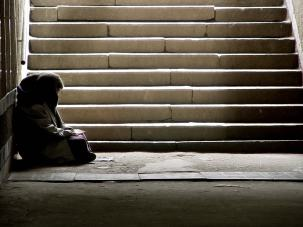 Homelessness amongst old people soars by 39%, official figures reveal